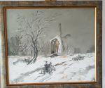 """Картина """"Зимна импресия"""" на Екатерина Рангелова"""